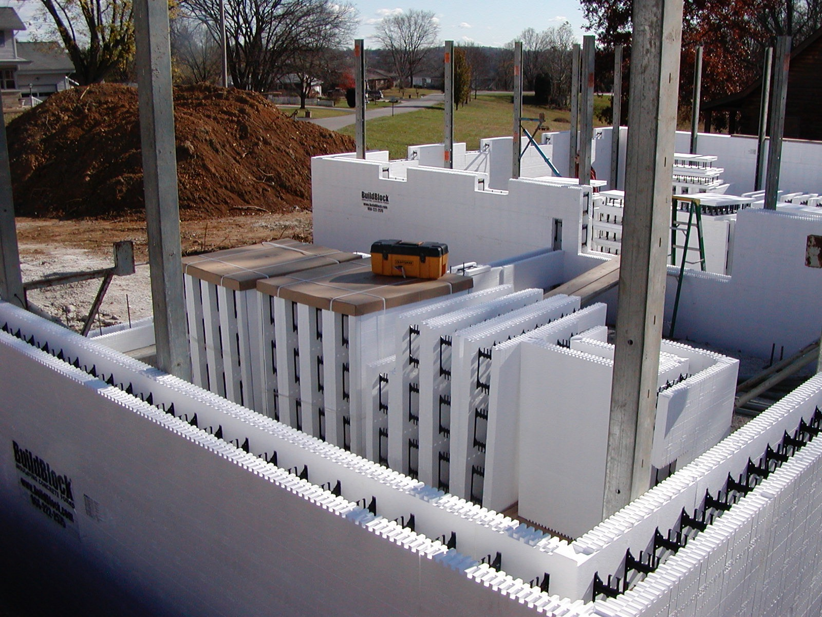 The lasting effects of icfs buildblock insulating for Icf concrete