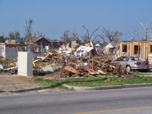 Storm damage to wood-frame homes