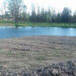 Lake outside of the Drew Castle