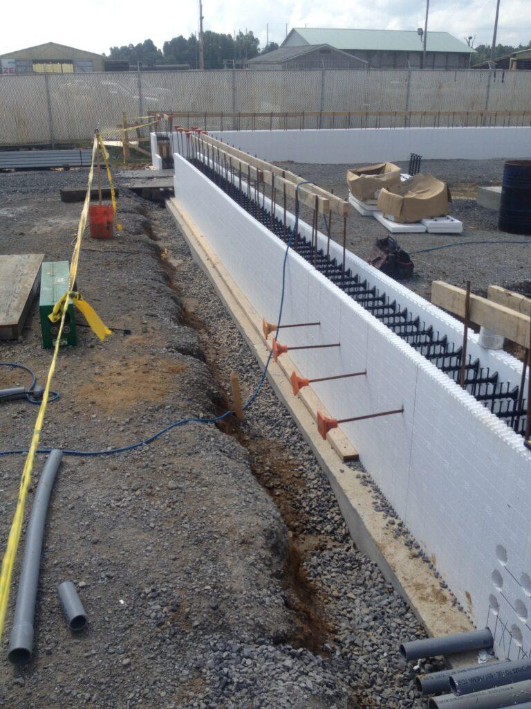 New icf ethylene control building calvert city ky for Icf construction