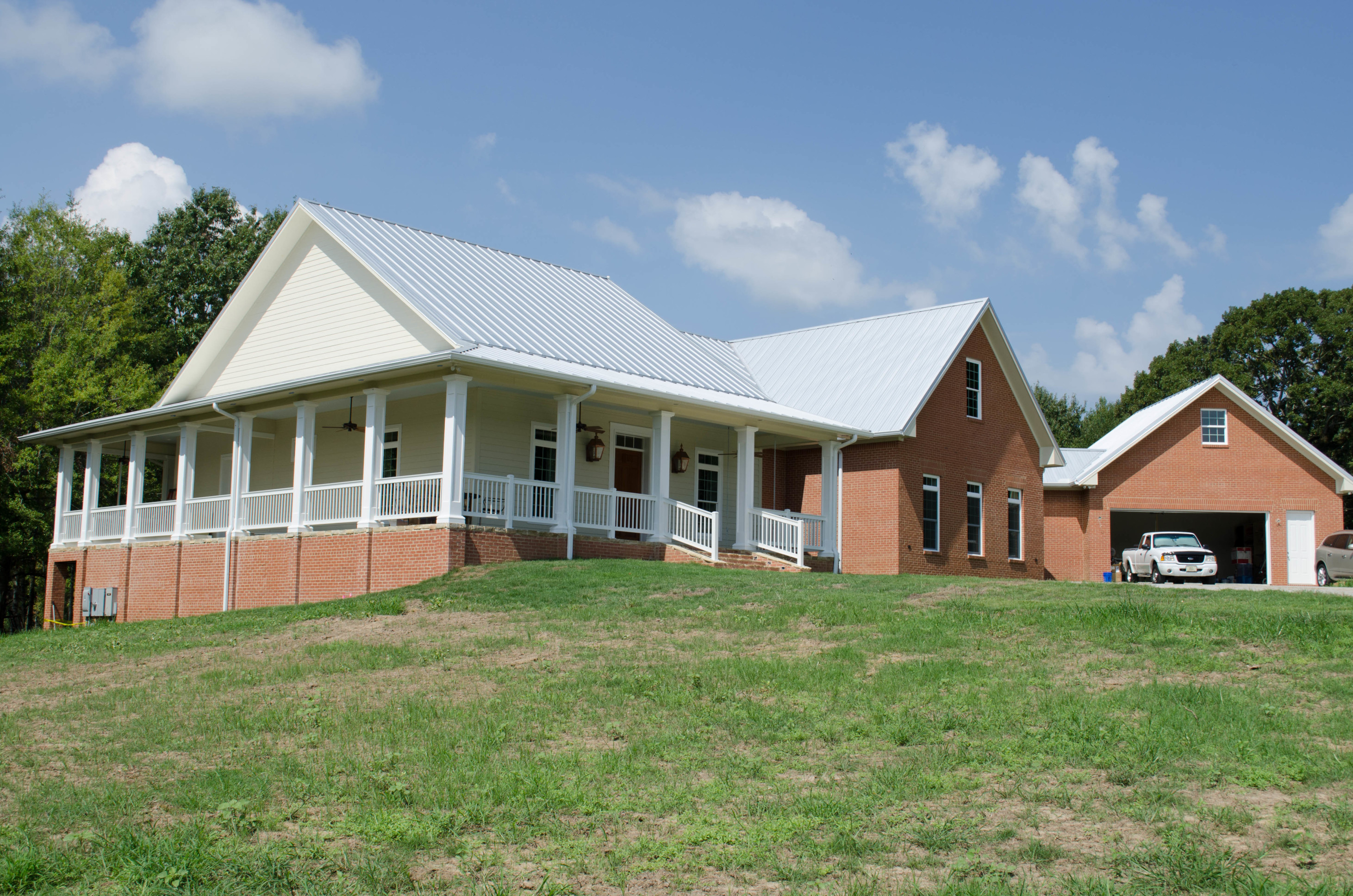 First icf home in yazoo county mississippi built using for Icf home