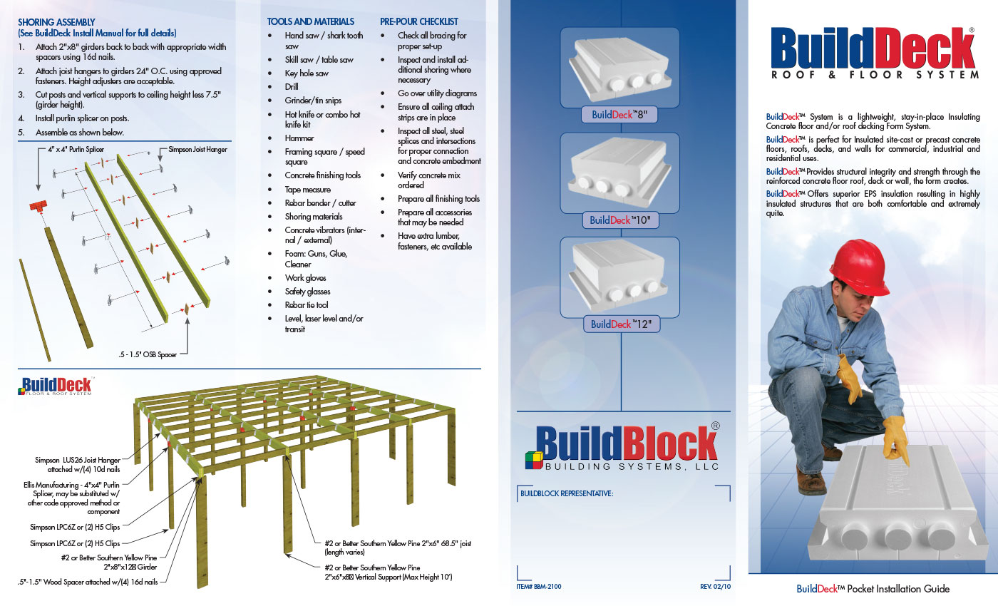 Builddeck Floor Amp Roof Decking