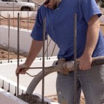 Pouring ICF Walls