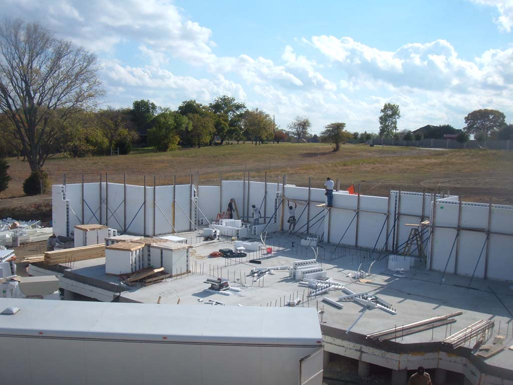 Crocker icf home buildblock insulating concrete forms for Buildblock icf pricing
