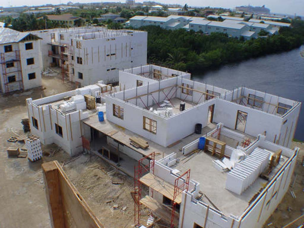 Multifamily projects buildblock insulating concrete forms for Icf house