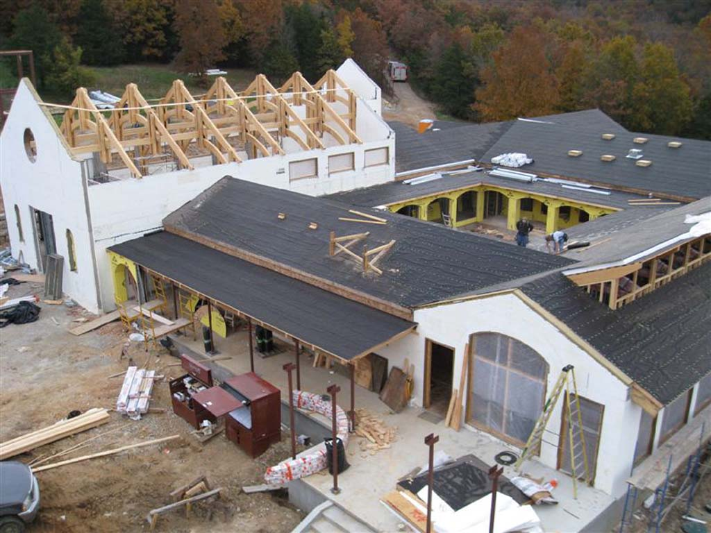 Mixed use commercial projects buildblock insulating for Icf built homes