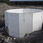 Silo ICF Structure