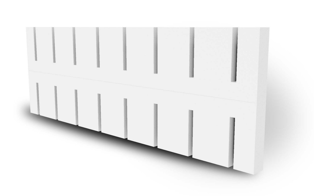 ThermalSert 2-inch Insulation Insert for BuildBlock ICF Blocks