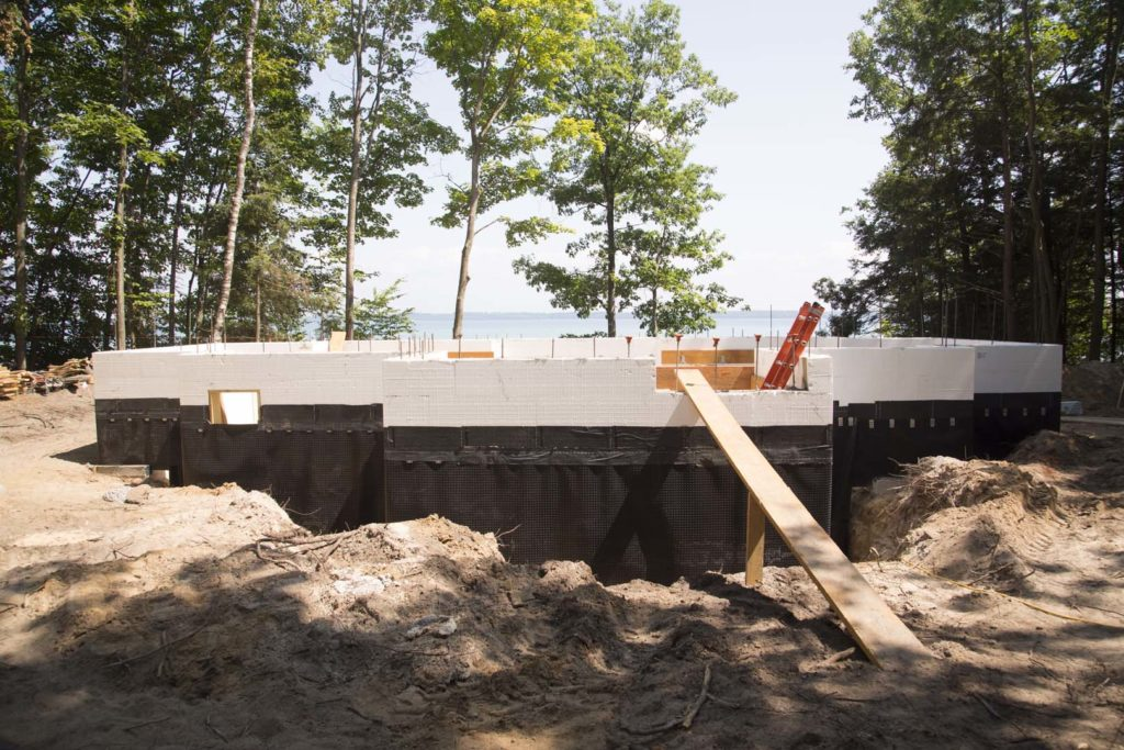 Waterproofing for Cost of poured concrete foundation walls