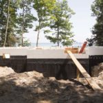 ICF Basement After Pour
