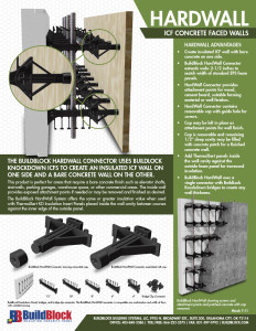 2015 BuildLock HardWall Brochure