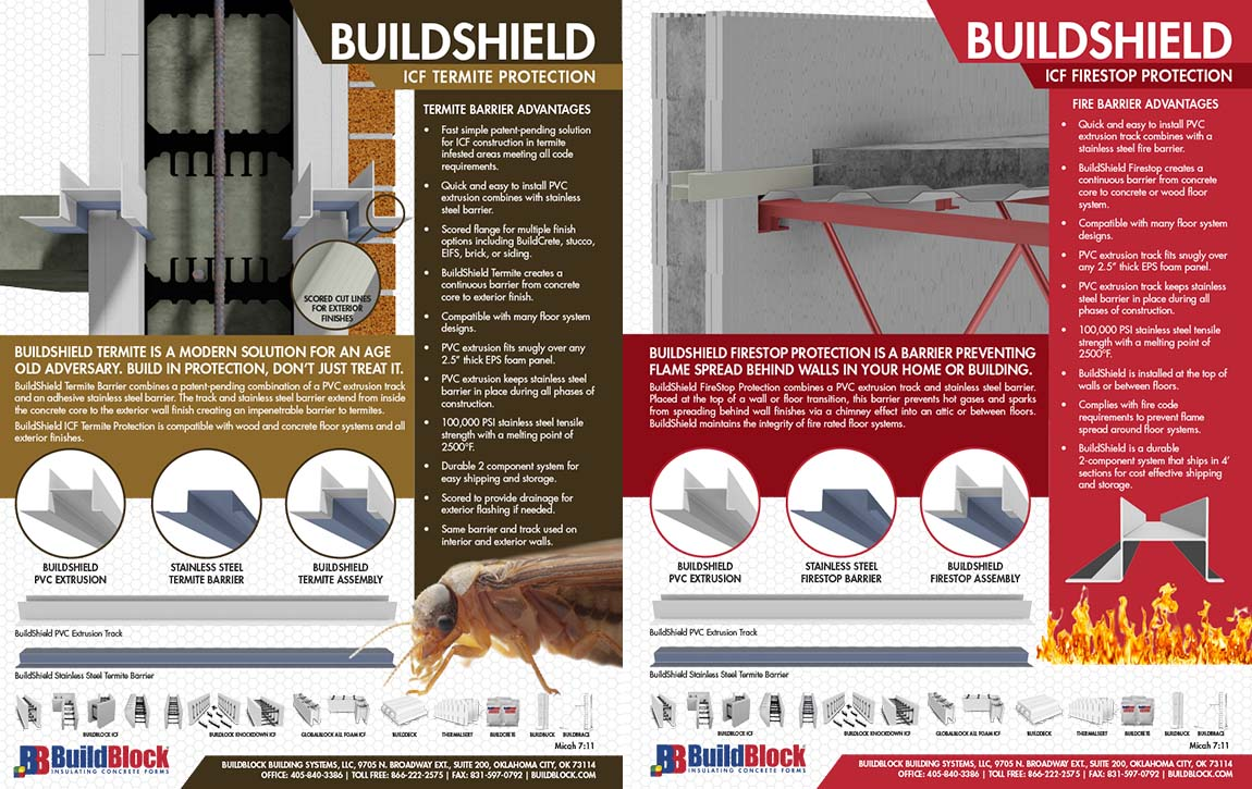 Buildshield Firestop Protection Buildblock Insulating