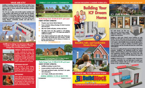 2015 Residential Brochure front