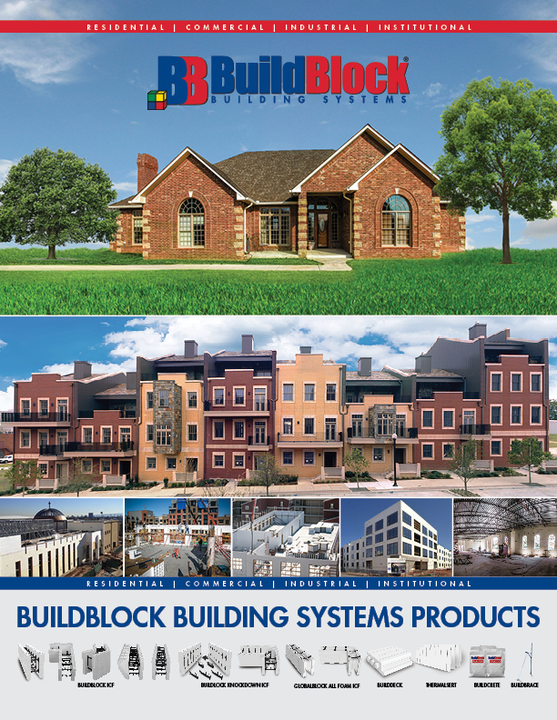 Residential construction with icfs buildblock insulating for Icf residential construction
