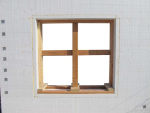 BuildBuck bracing a window