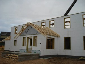 Construction of Nestledown Bed and Breakfast