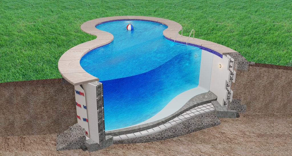 Icf swimming pools for Icf home kits