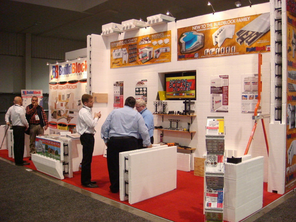 BuildBlock ICFs at the 2016 World of Concrete