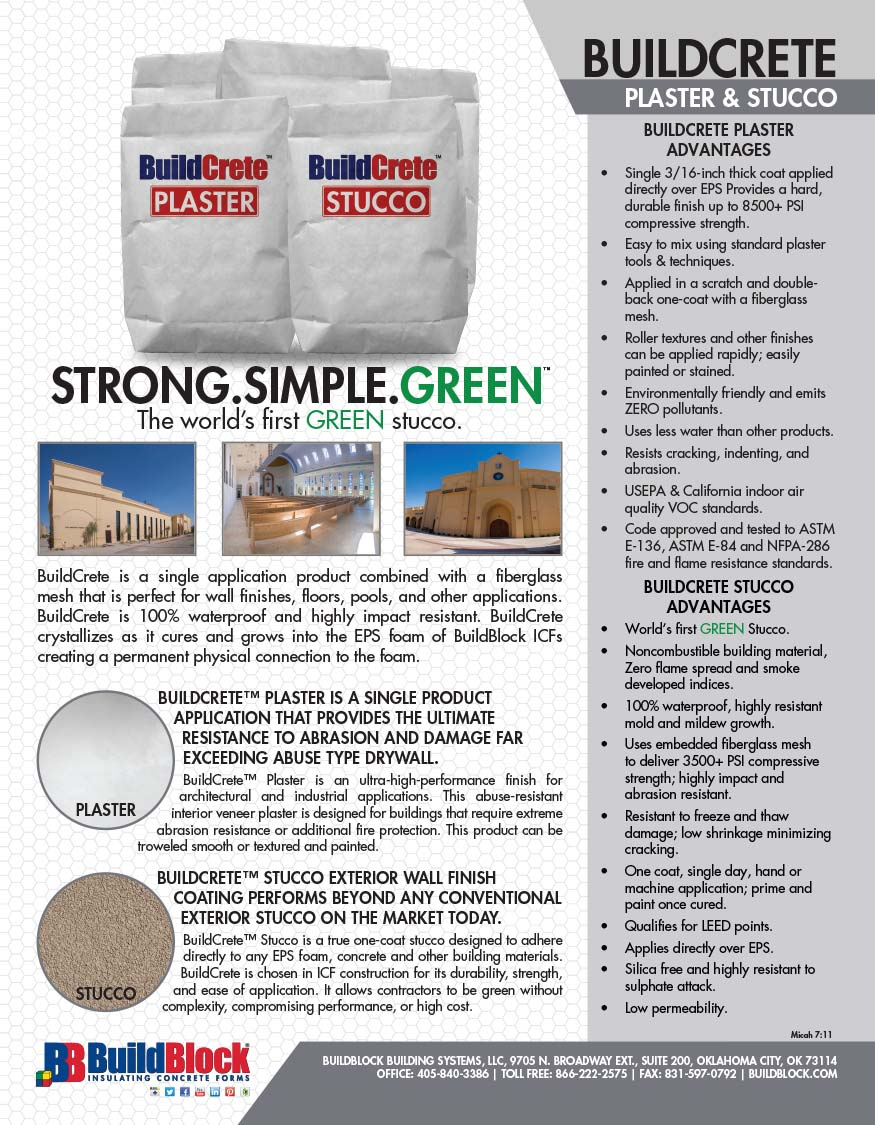 2016 BuildCrete Brochure