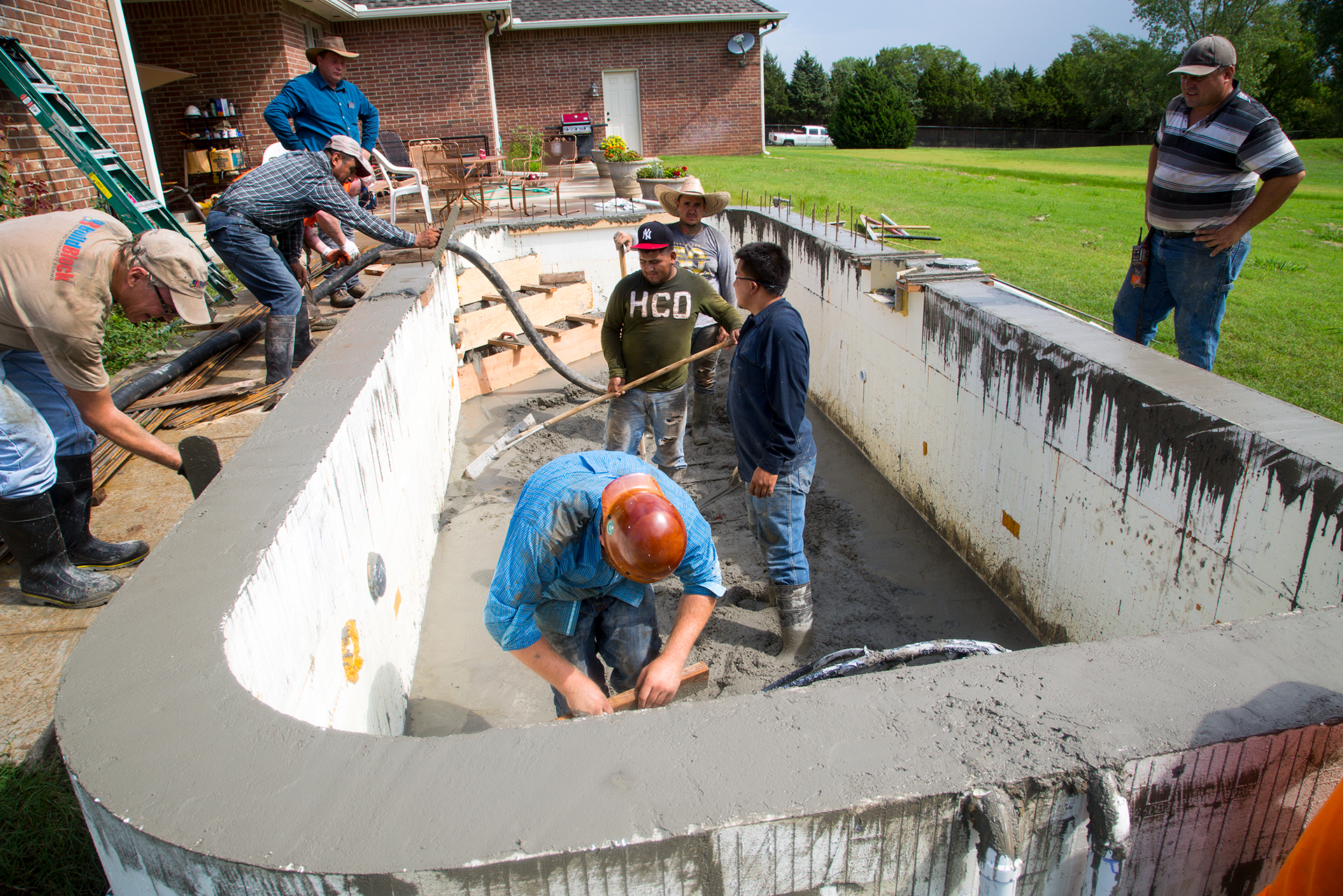 Icf swimming pools buildblock insulating concrete forms for Icf concrete forms for sale