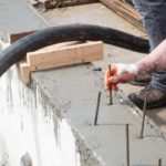 Adding rebar pins to the top of the wall
