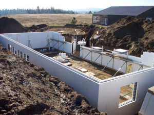 Why build an icf basement with buildblock icfs for Insulating basement floor before pouring