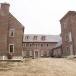 Drew Castle after exterior finish