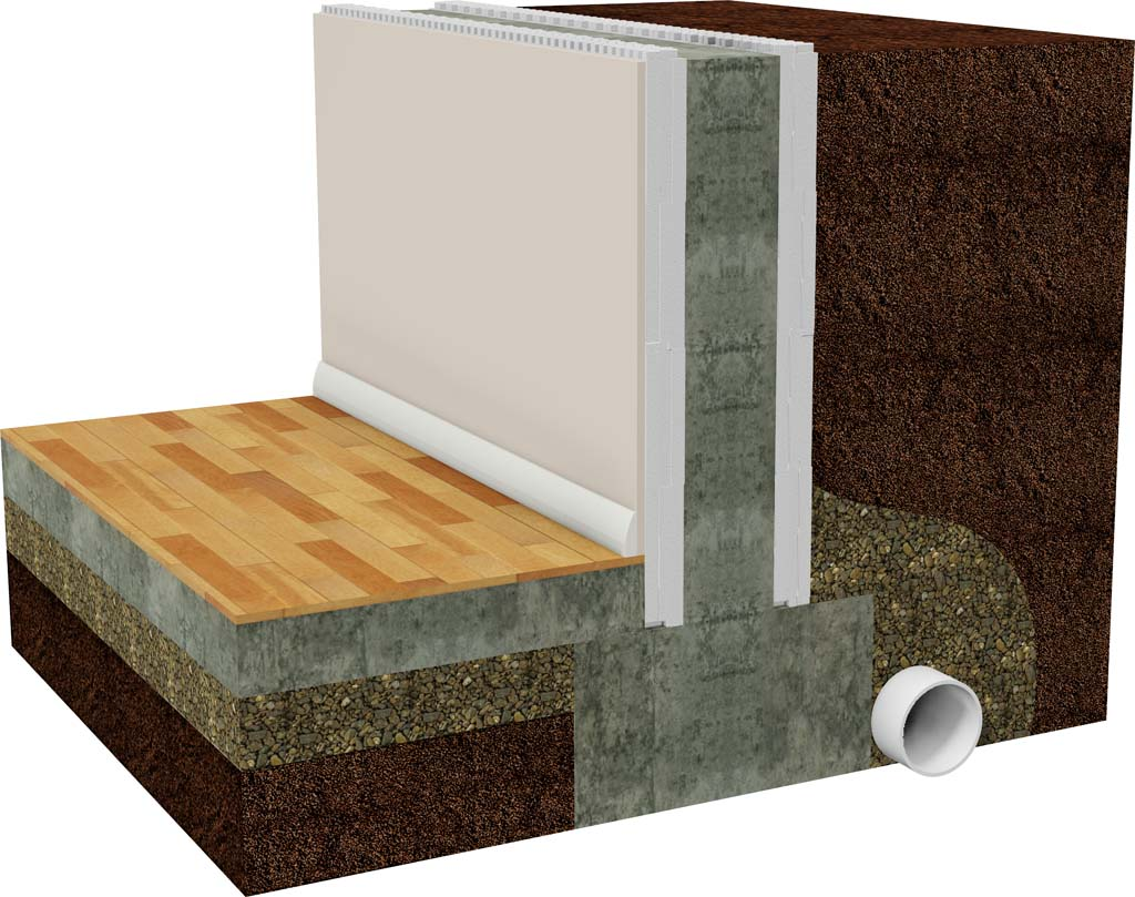 Why build an icf basement with buildblock icfs for Foam block foundation prices