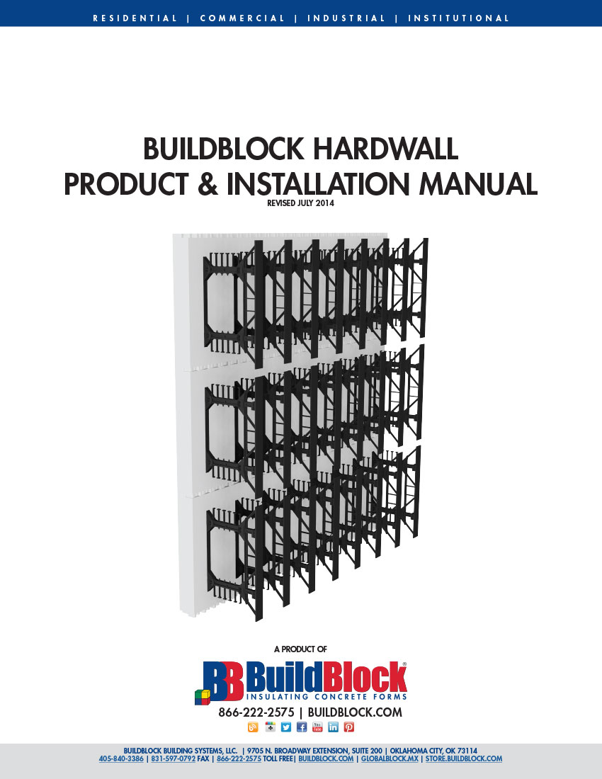 Buildblock product installation manuals for Buildblock pricing