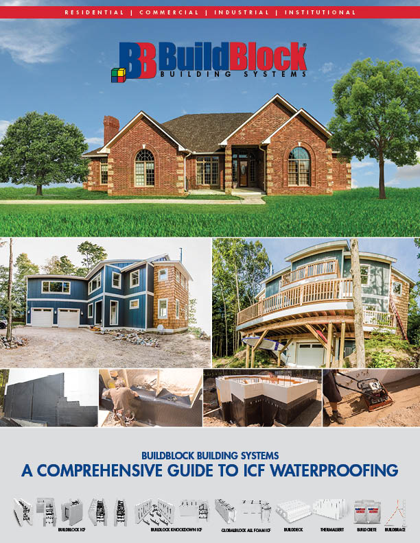 Waterproofing for Icf home kits