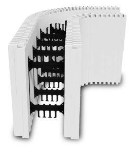 BuildRadius 2-foot Radius Block