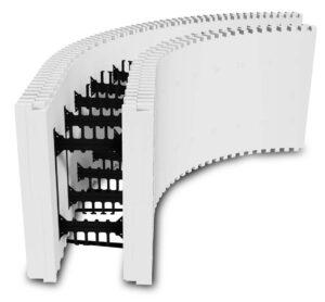 BuildRadius 4-foot Radius Block