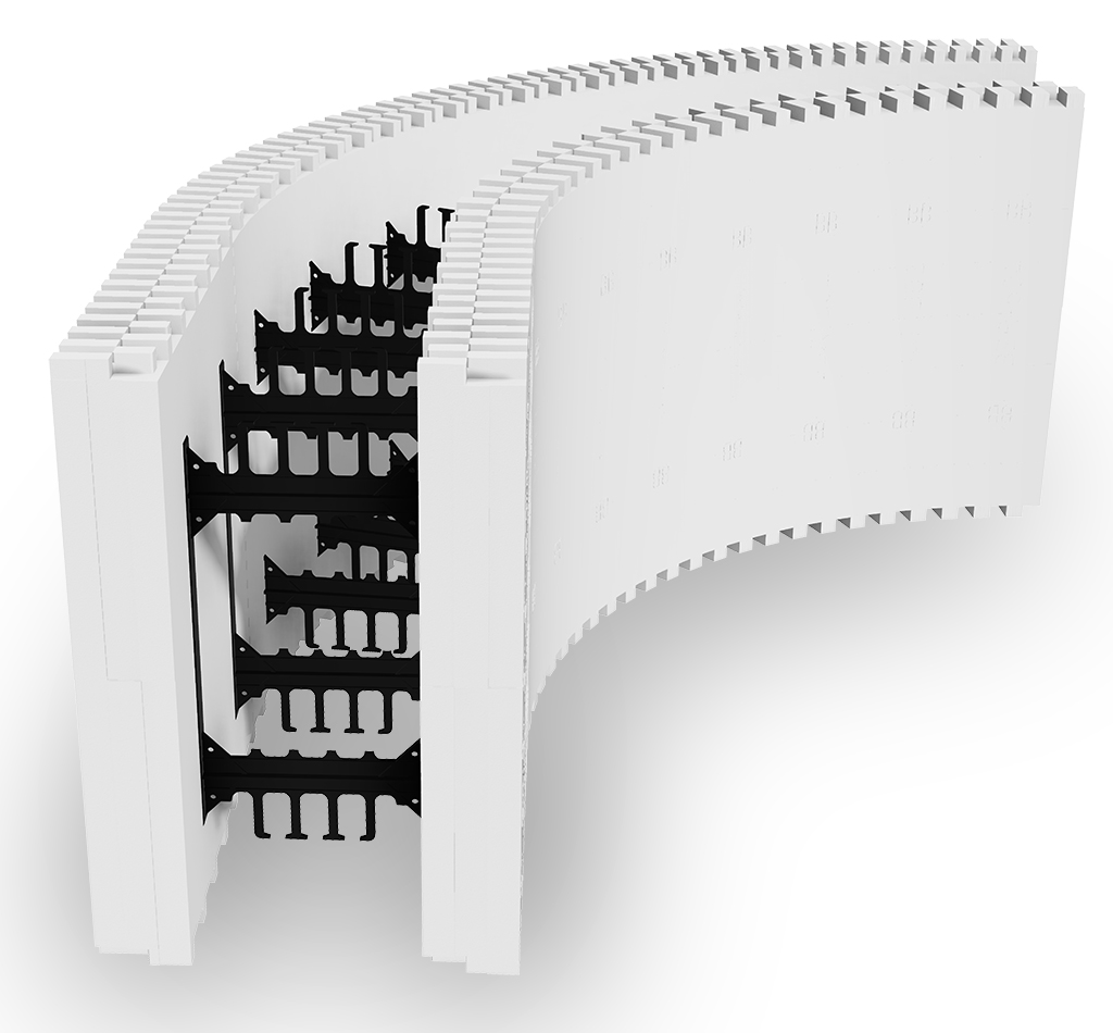 Press Release: BuildBlock ICFs Releases BuildRadius ICF Wall & Pool Radius Forms