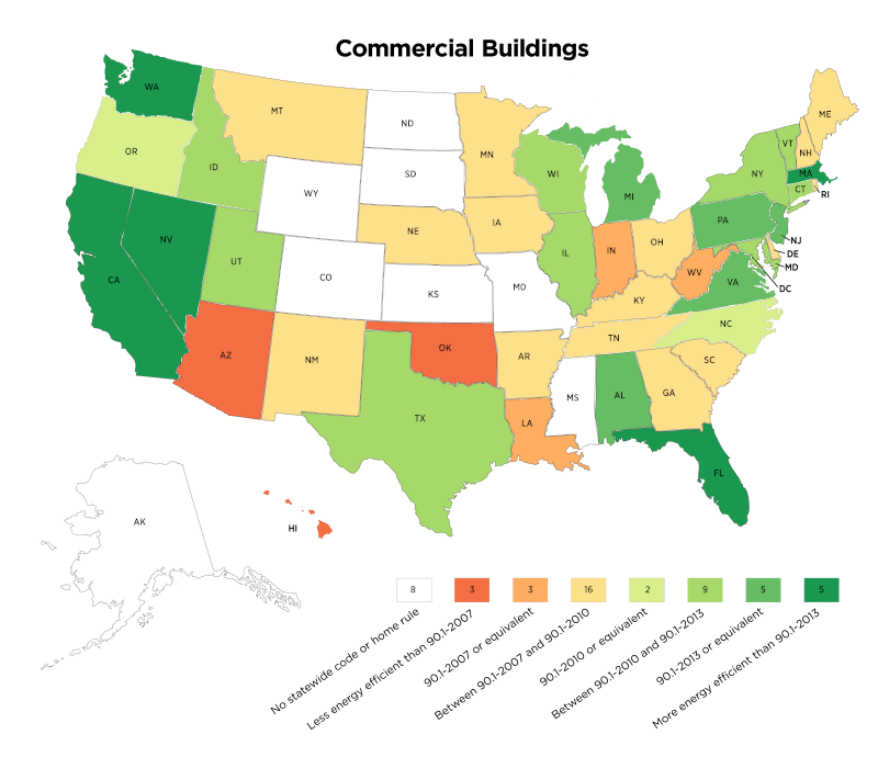 2018 Commercial Code Adoption by State