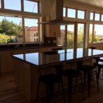 Finished interior kitchen
