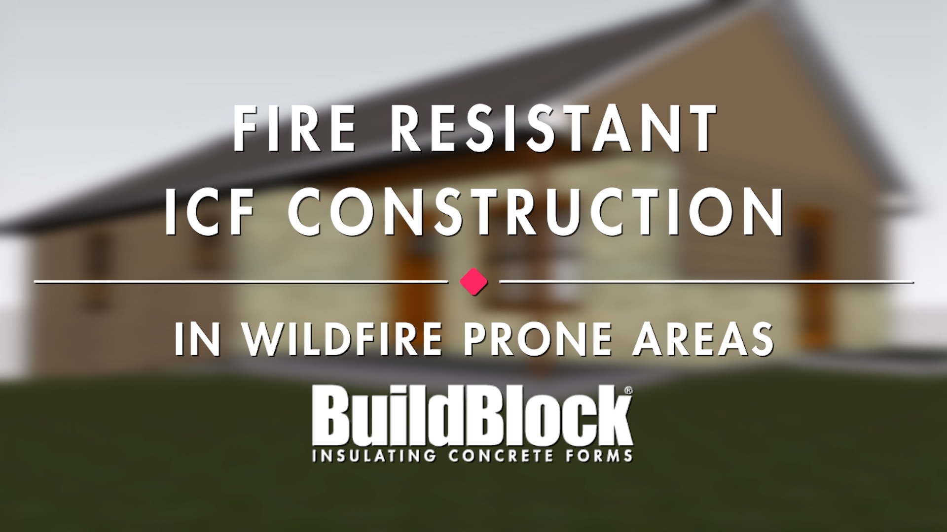 Video: How To Build A Fire Resistant ICF House
