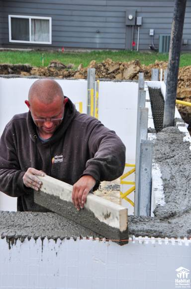 Habitat for Humanity & BuildBlock Prove that Anyone Can Build With ICFs