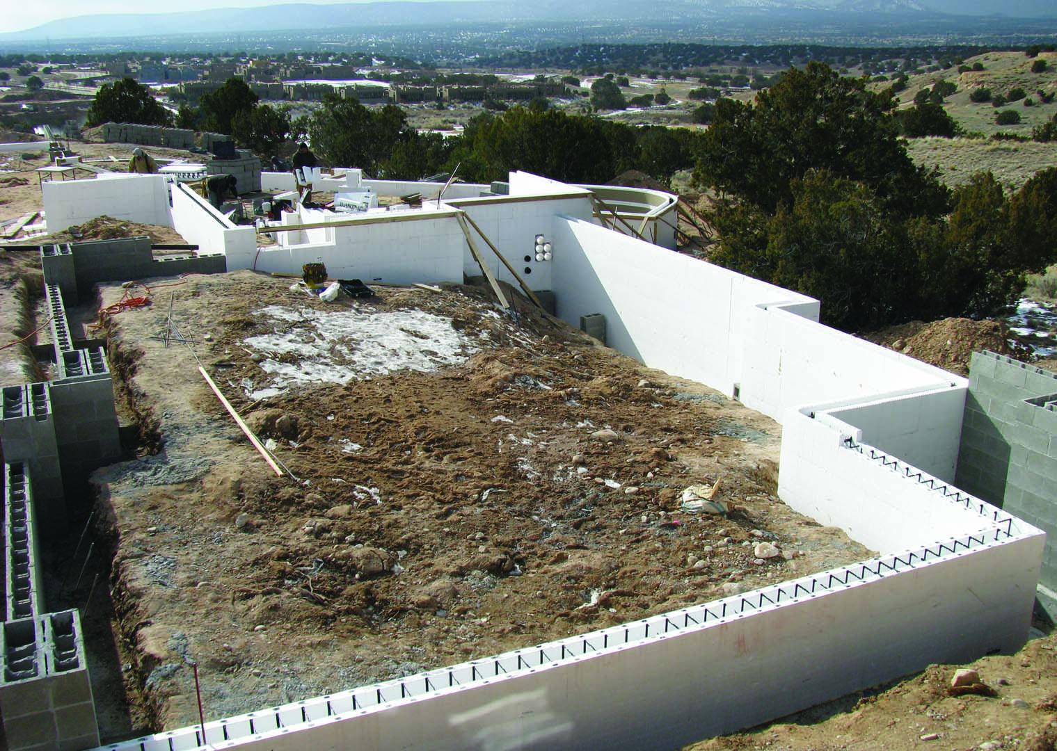 how to create santa fe walls