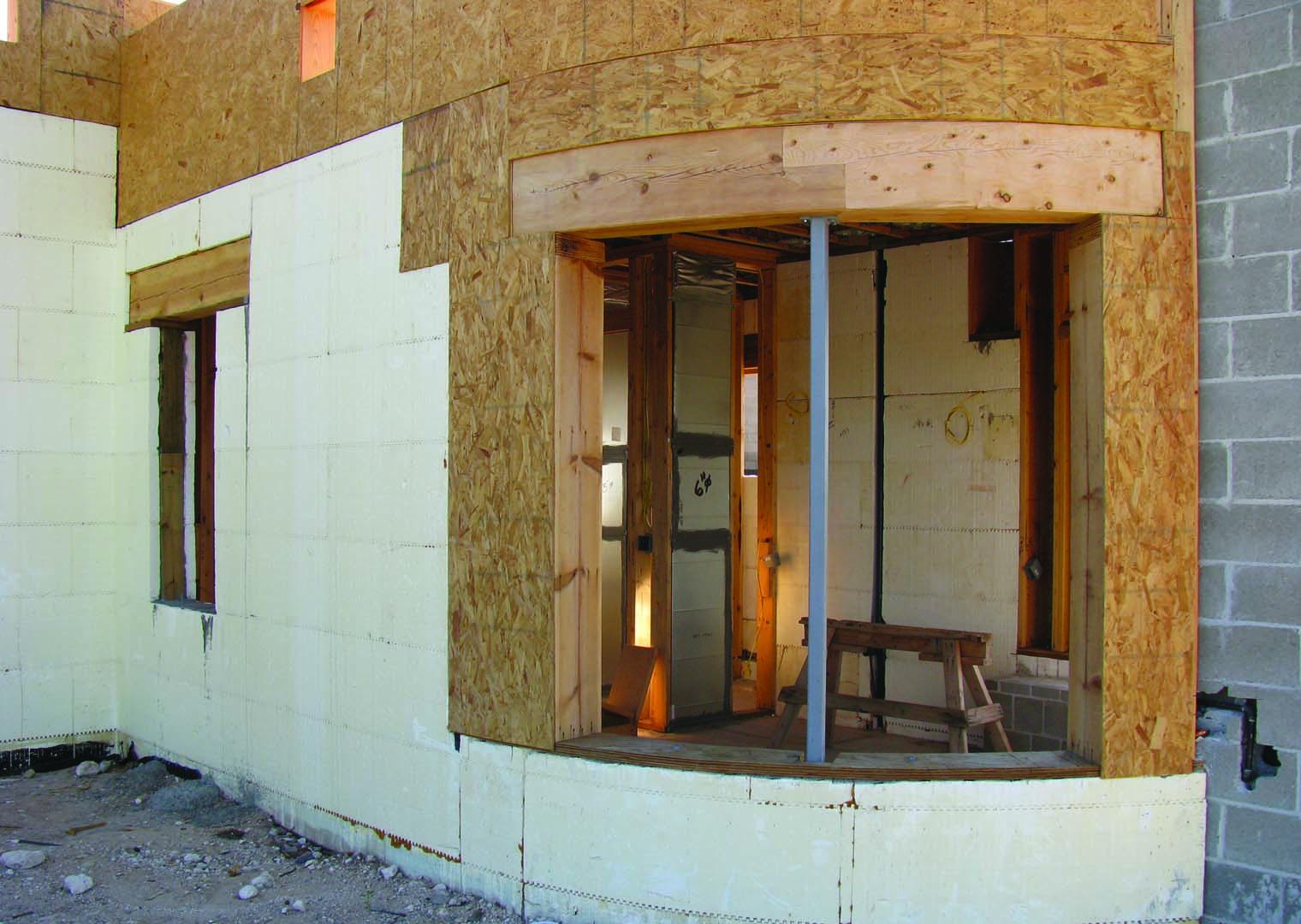 Santa Fe New Mexico Green Building With Buildblock Icfs