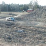 Site before construction