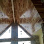 Vaulted ceilings upstairs