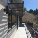 Second story wrap around deck