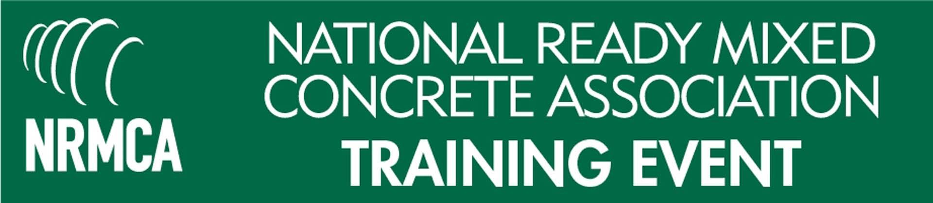 NRMCA Training Event