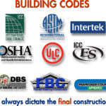 Assortment of building codes