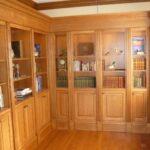 Secret bookcase door closed