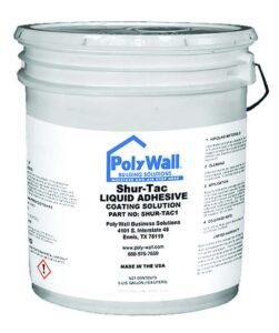 PolyWall Shur-Tac Liquid Adhesive