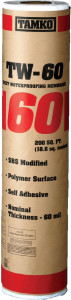 Tamko TW-60 Sheet Waterproofing Membrane