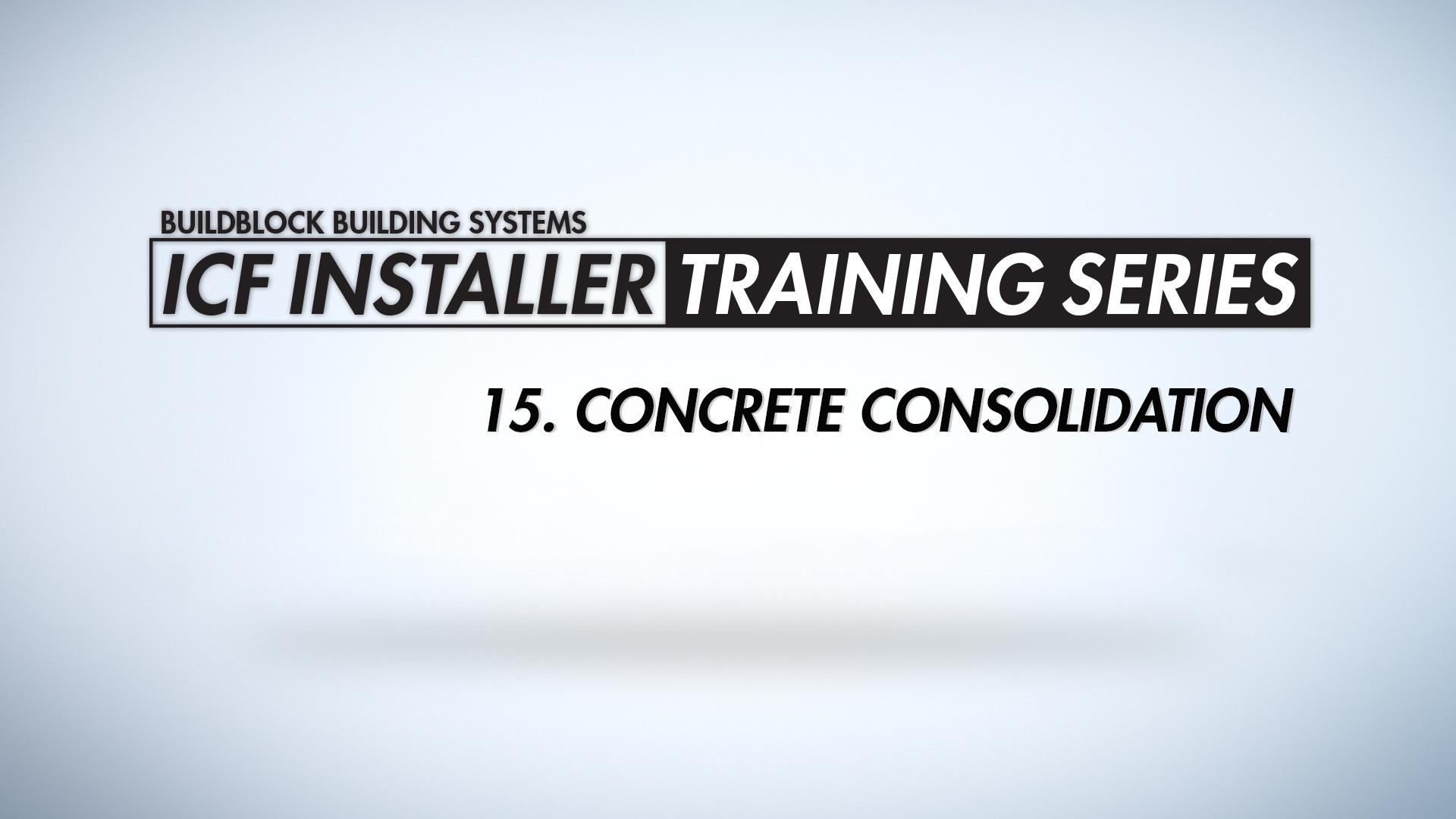 concrete consolidation