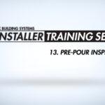 pre-pour inspection