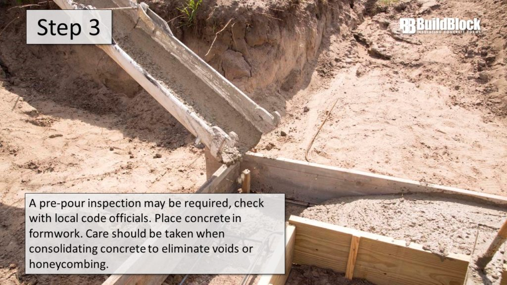 basic icf construction step 3